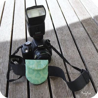 Camera Lens cap holder - large