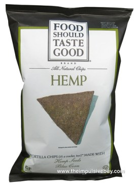 Food Should Taste Good Hemp Tortilla Chips