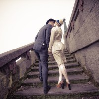Alix & Nick's WWII era 1940s elopement