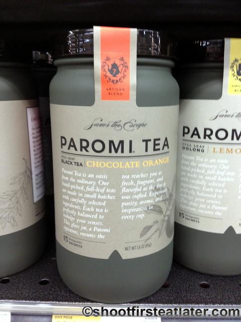 Paromi chocolate orange tea