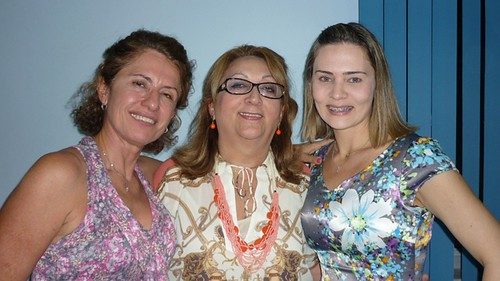 Darenice Dantas, Bethania Conrado e Elane Aguiar