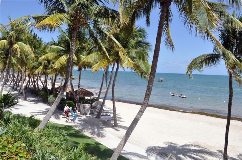 Playa de nuestro hotel, Waldorf Astoria Casa Marina Key West