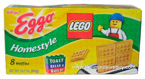 Kellogg's Eggo Lego Homestyle Waffles