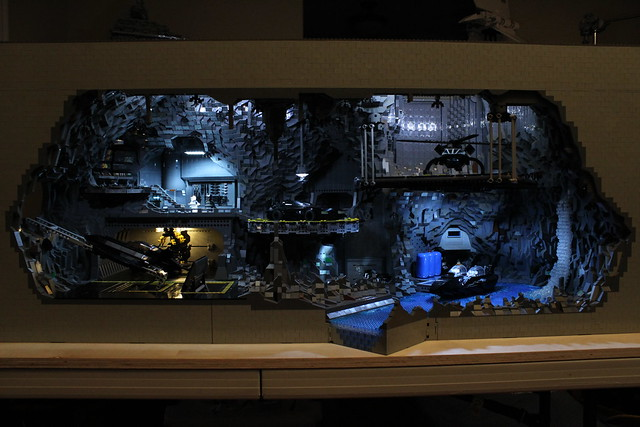 8074993454 2c588032ae z The Bat Cave Built From 20,000 Lego Parts