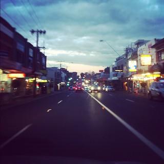 Driving on High Street