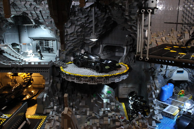 8075009869 115f40a18d z The Bat Cave Built From 20,000 Lego Parts
