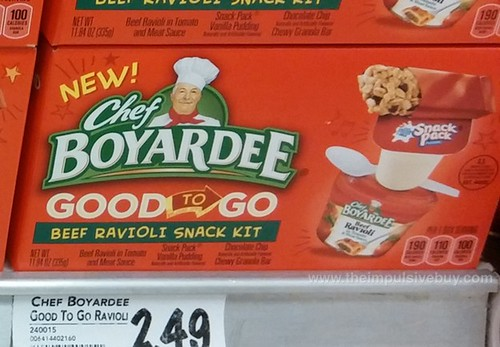 Chef Boyardee Good To Go Beef Ravioli Snack Kit