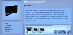 MedeaMedia Wall TV