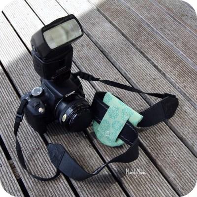 Camera Lens cap holder - back