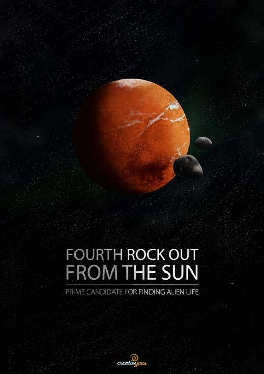 Fourth Rock Out Poster