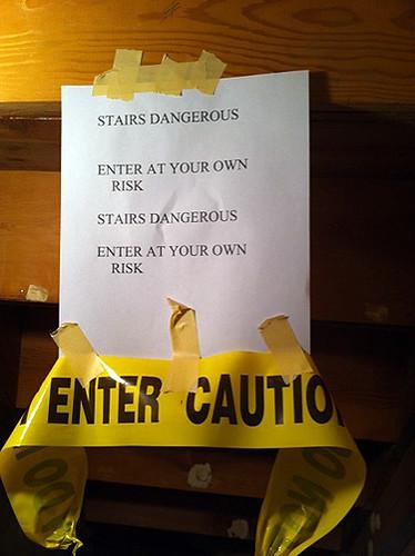 Stairs Dangerous