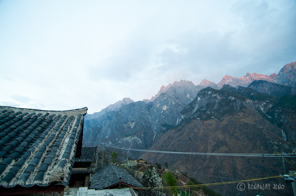 Sunset in Tiger Leaping Gorge
