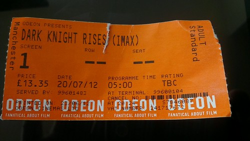 The Dark Knight Rises at 5am BST