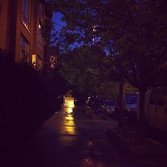 Rainy Night on May Street