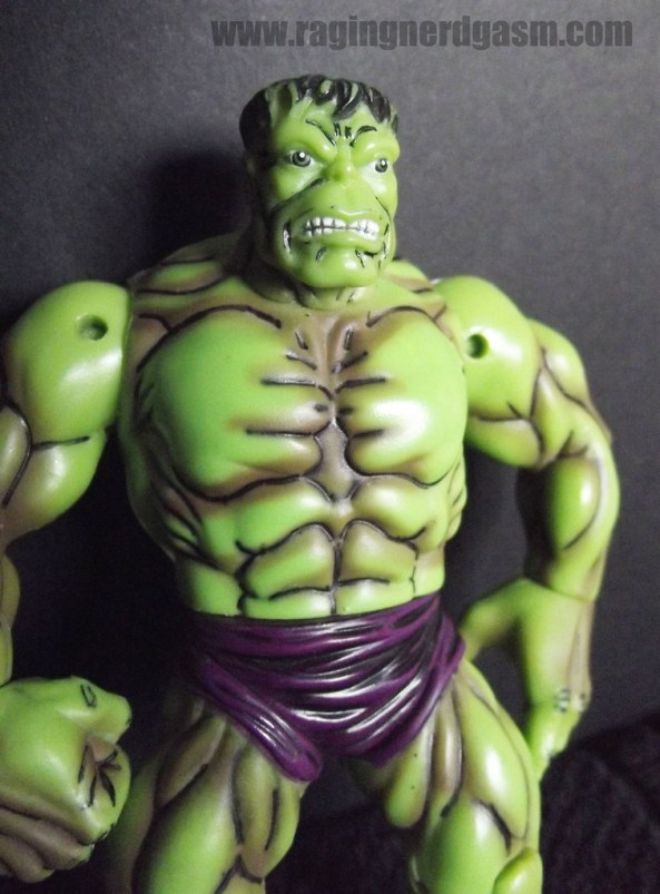 The Hulk from the Avengers box set by Toy Biz