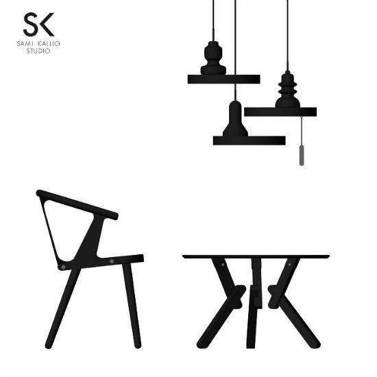 sami kallio studio-between gap line