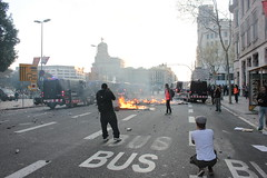 Disturbios en Barcelona tras la manifestación de la huelga general del 29M _IMG_2132
