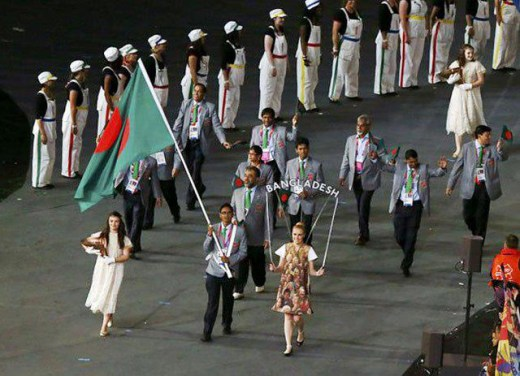 Bangladesh Contingent at London 2012 Olympics