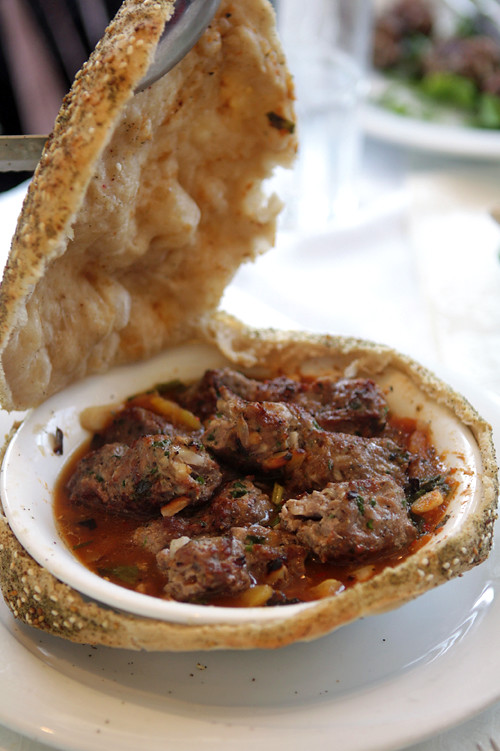 bread-baked meat