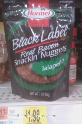 Hormel Black Label Real Bacon Snackin' Nuggets Jalapeno