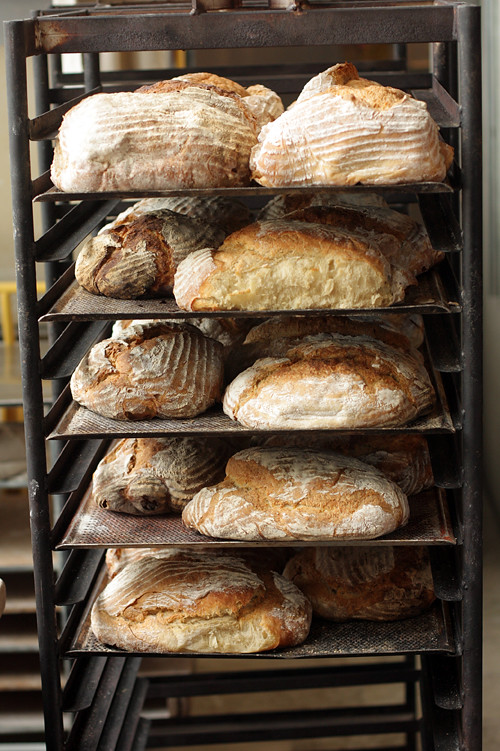 bread rack at Rosendals Trädgård