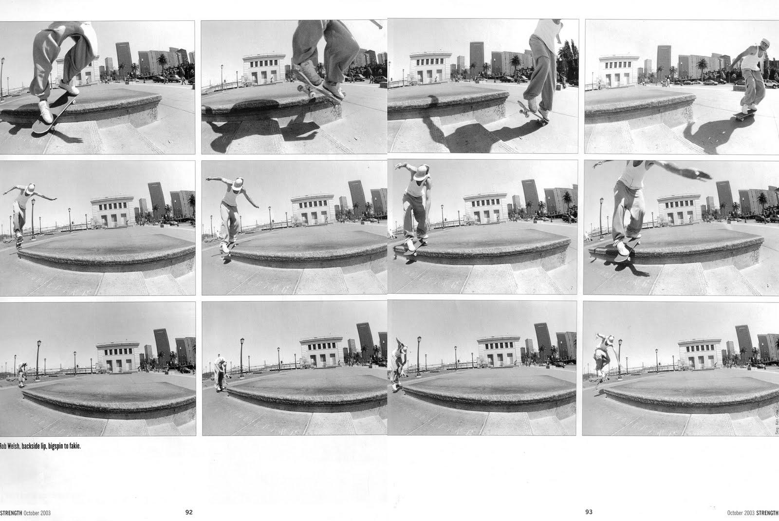Rob W elsh - back lip big spin