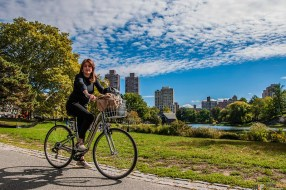 Cycling at Central Park