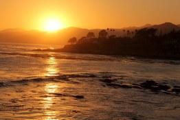 Sunset near Pismo Beach, CA