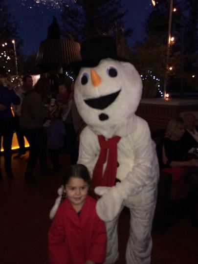 hey, it's Frosty!