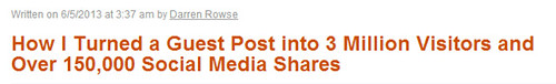 Importance of guest posting