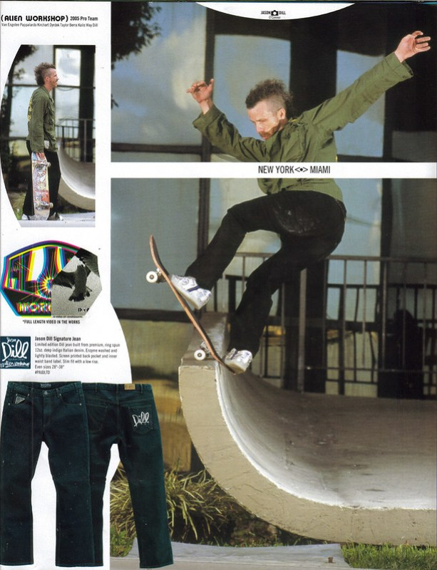 Jason Dill Fs Blunt Alien Workshop Jeans