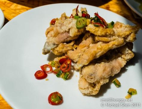 Salt and pepper chicken chops Ms G's