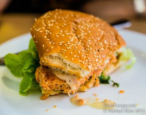 Benz on York fish burger