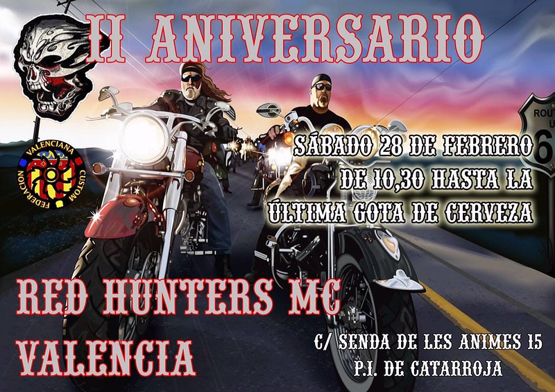 II Aniv. RED HUNTERS MC - Valencia
