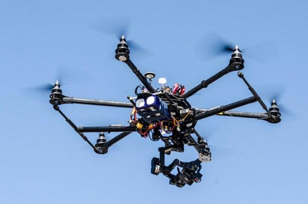 Video equipment, Hexacopter Camera
