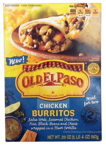 Old El Paso Meal for Two Chicken Burritos