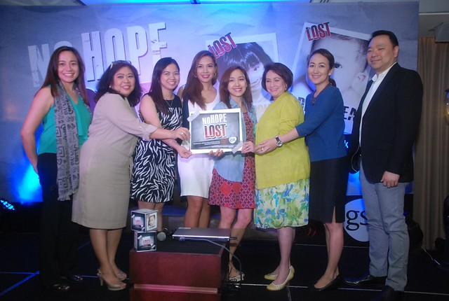 Ria Trillo, Barbie Almalbis-Honasan,Dr. Sally Gatchalian with the GSK Team