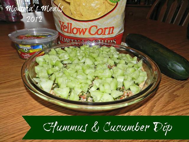 Humus & Cucumber