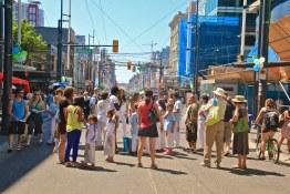 Downtown Crowds