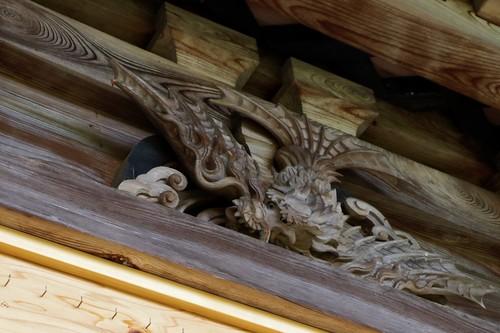 羽の生えた龍