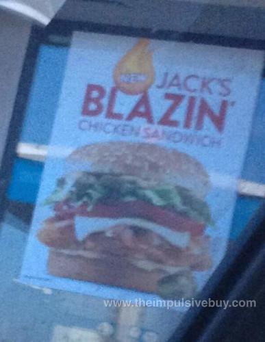 Jack's Blazin' Chicken Sandwich