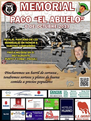 Memorial Paco el abuelo - Padul