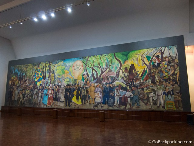 "Diego Rivera's ""Dream of a Sunday Afternoon in Alameda Park"""