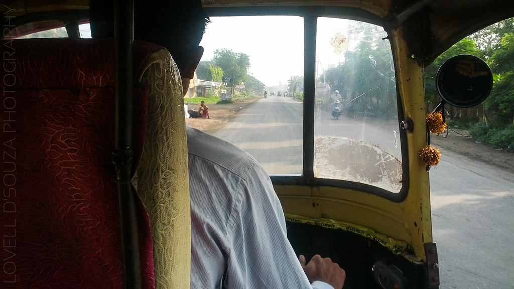 Autorickshaw ride from Mehkar to Lonar