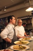 Chef Patrick McKee and Chef Joël Watanabe at St. Jack