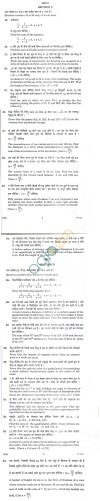 CBSE Board Exam 2014 Class 10 SA2 Sample Question Paper – Mathematics for Blind Candidates