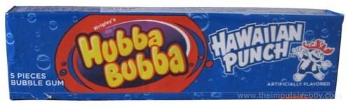 Wrigley's Hubba Bubba Hawaiian Punch Bubble Gum