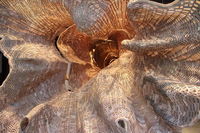 "Artist John Grade's ""Middle Fork"" Sculpture"