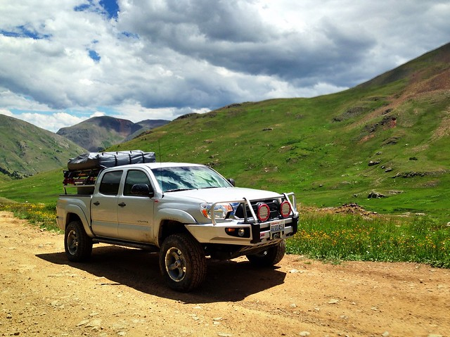 Toyota Tacoma, County Road 19, Animas Forks, Colorado, 2013