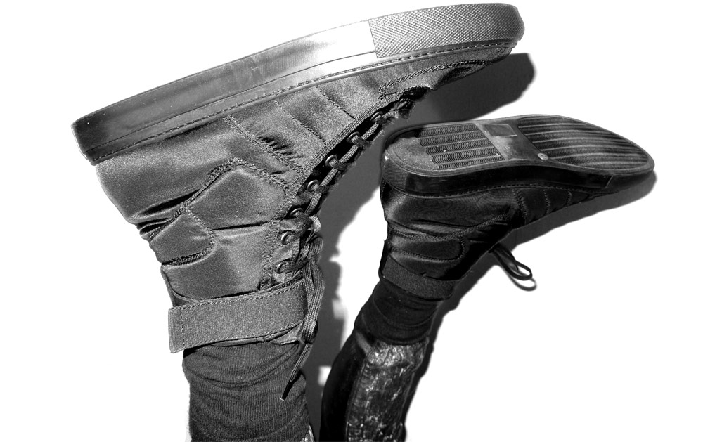 "Raf Simons ""Vandals"" High-Top Sneakers"